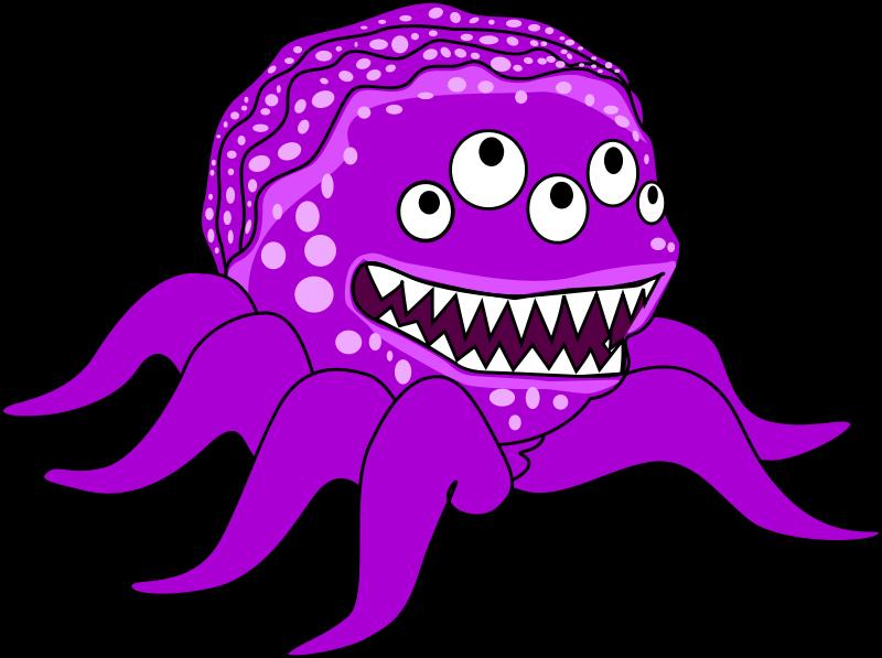 Monster clip art clipart free microsoft