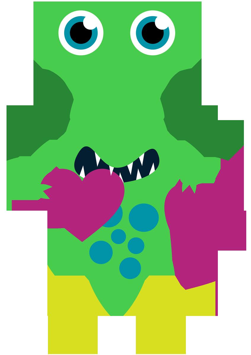 Monster clipart 12