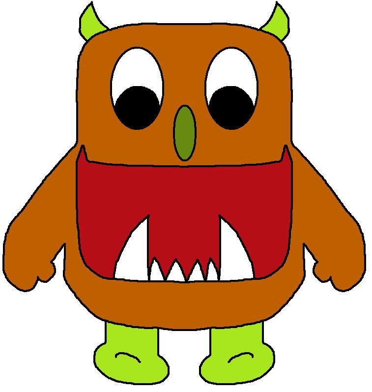Monster clipart 3