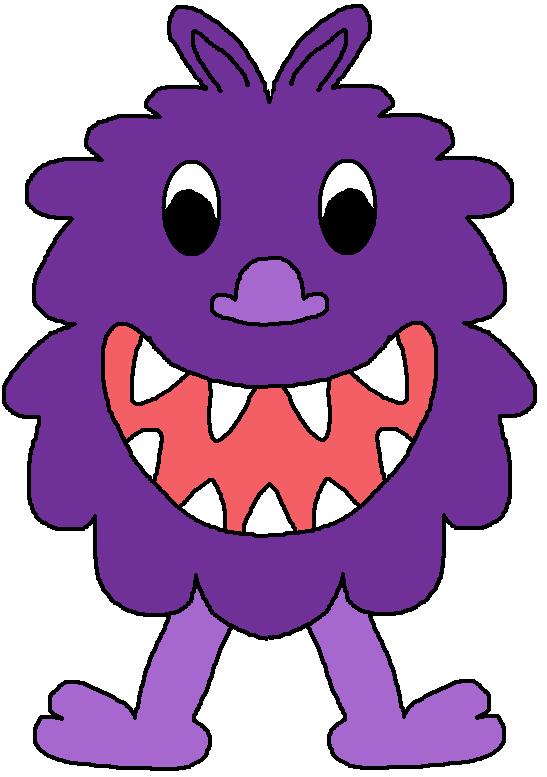 Monster clipart 5