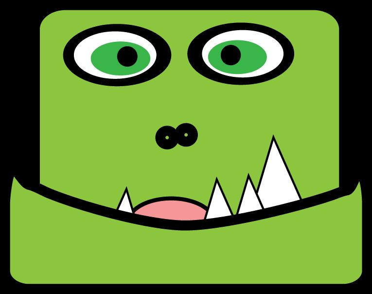 Monster clipart 6