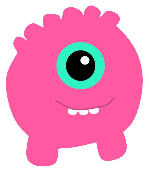 Monster clipart 9