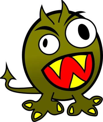 Monster clipart for kids goofy monster clip art image 2