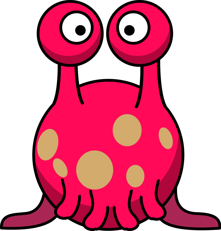Monster free to use clipart