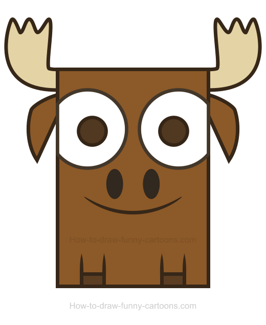 Moose clipart 13