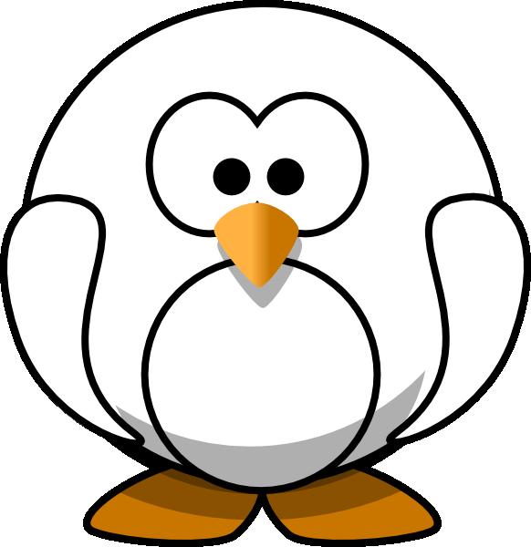 Penguin  black and white free penguin clip art