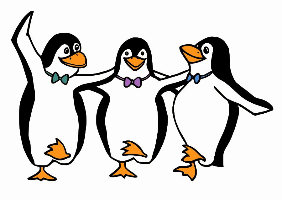 Penguin  black and white penguin black and white clip art clipart 4