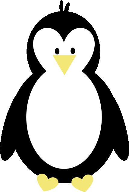 Penguin  black and white penguin clip art 9 3
