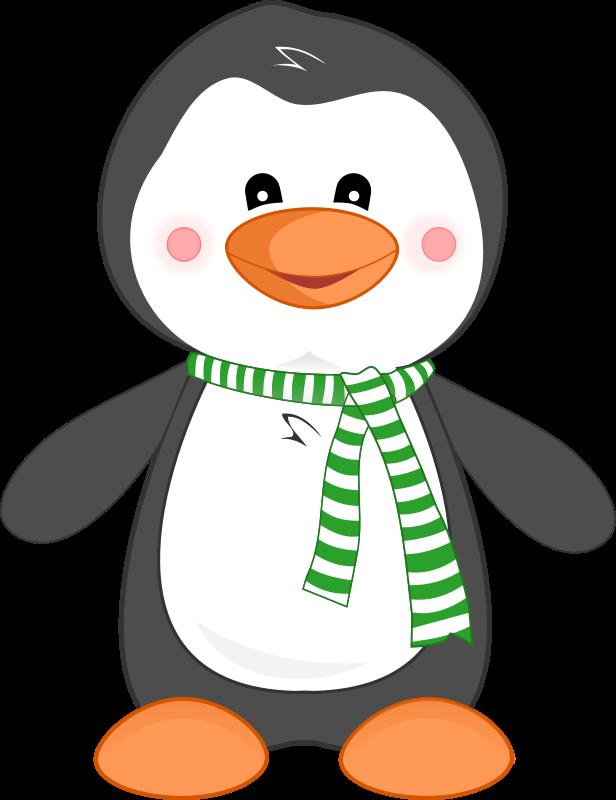 Penguin  black and white penguin clip art black and white free 4
