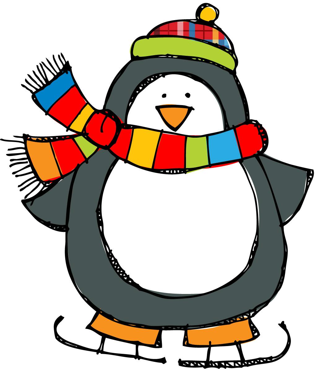 Penguin  black and white penguin clip art black and white free 5