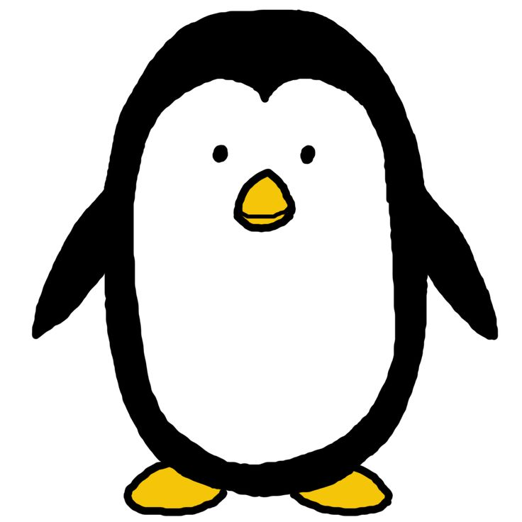 Penguin  black and white penguin clip art black and white free clipart images 7