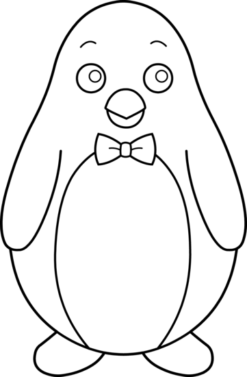 Penguin  black and white penguin clip art black and white free clipart images