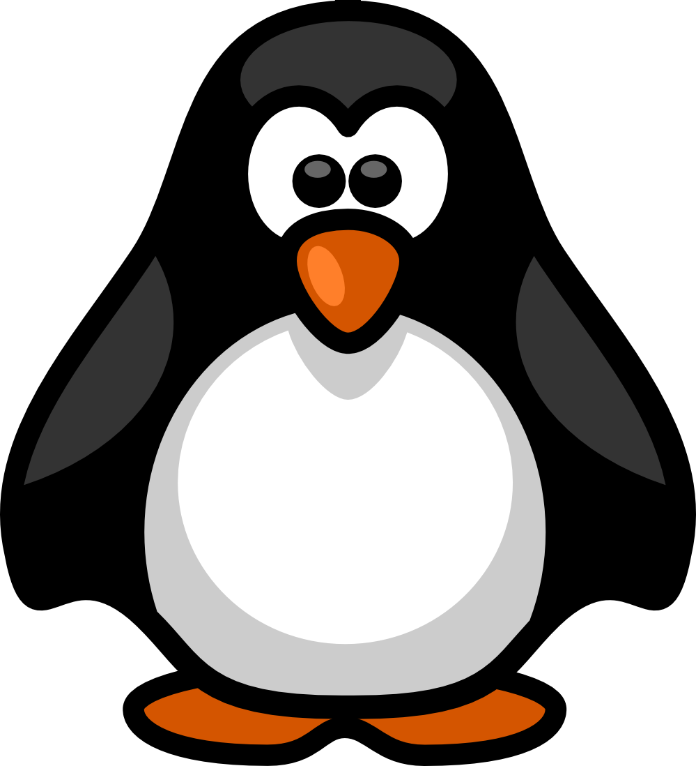 Penguin  black and white penguin clipart black and white free images