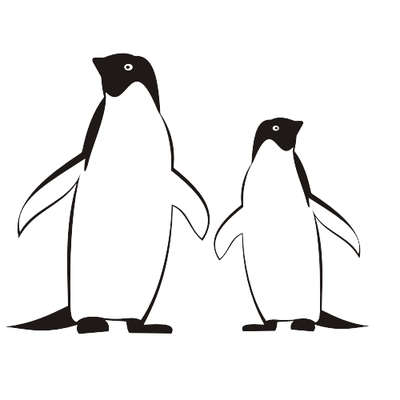 Penguin  black and white penguins clipart penguinclipart penguin animals clip art photo