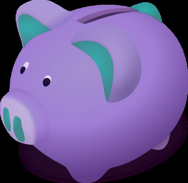 Piggy bank clip art 2