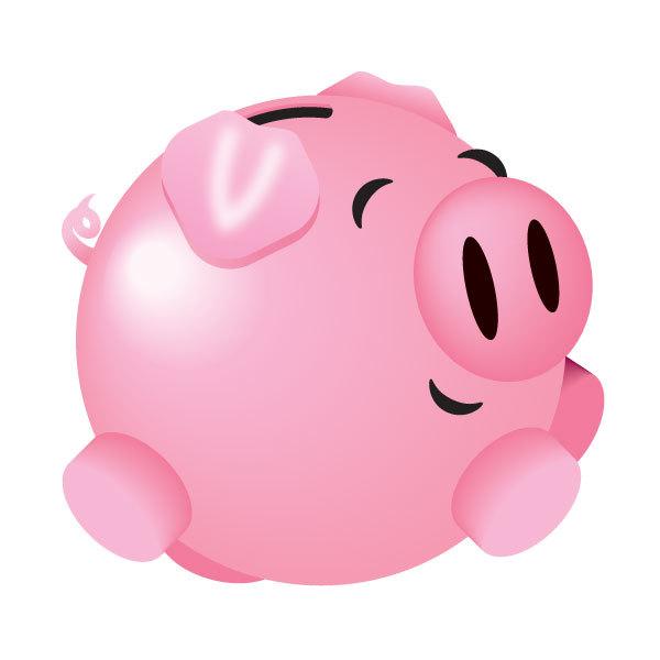 Piggy bank clip art clipart 5 2