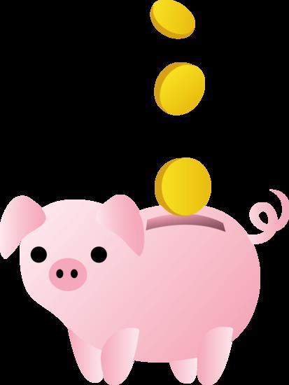 Piggy bank clip art clipart 5