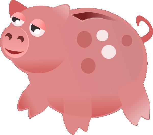 Piggy bank clip art clipart 6