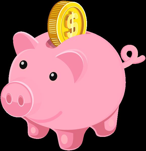 Piggy bank clip art image