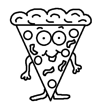 Pizza  black and white pizza clipart black and white free images 5