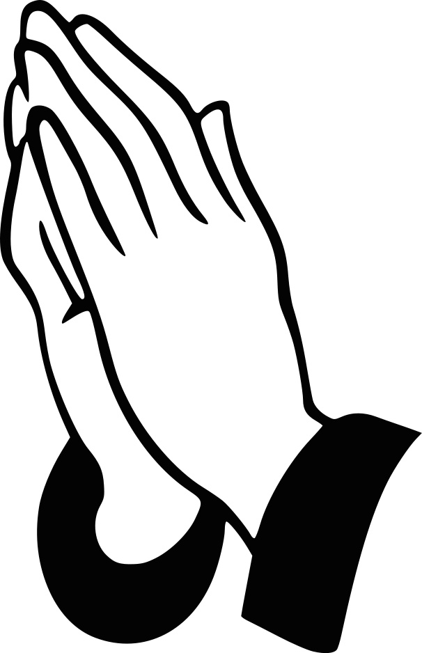 Praying hands clip art free download