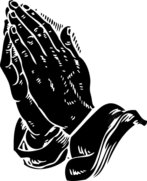 Praying hands praying hand prayer clipart image 9 4 3