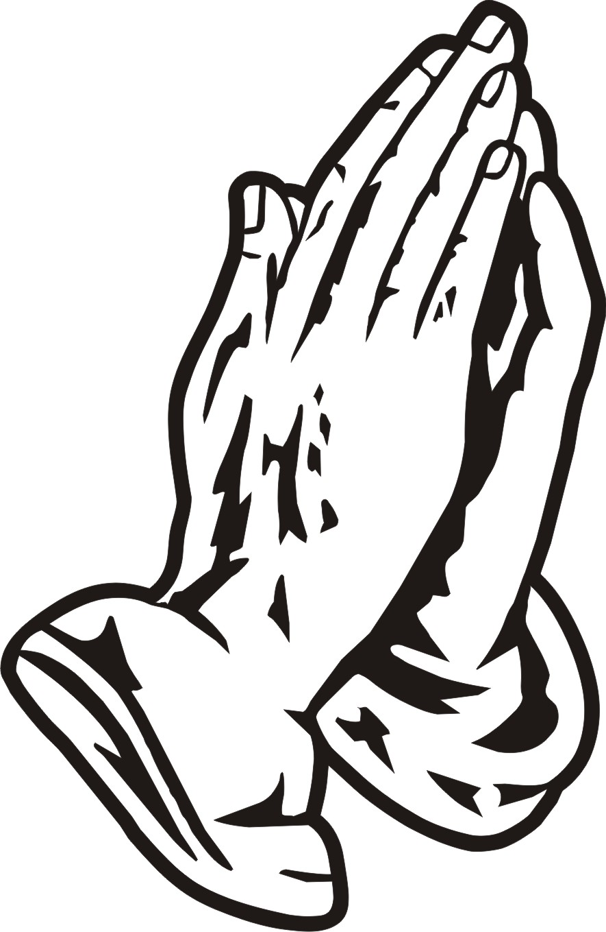Praying hands praying hand prayer clipart image 9 4