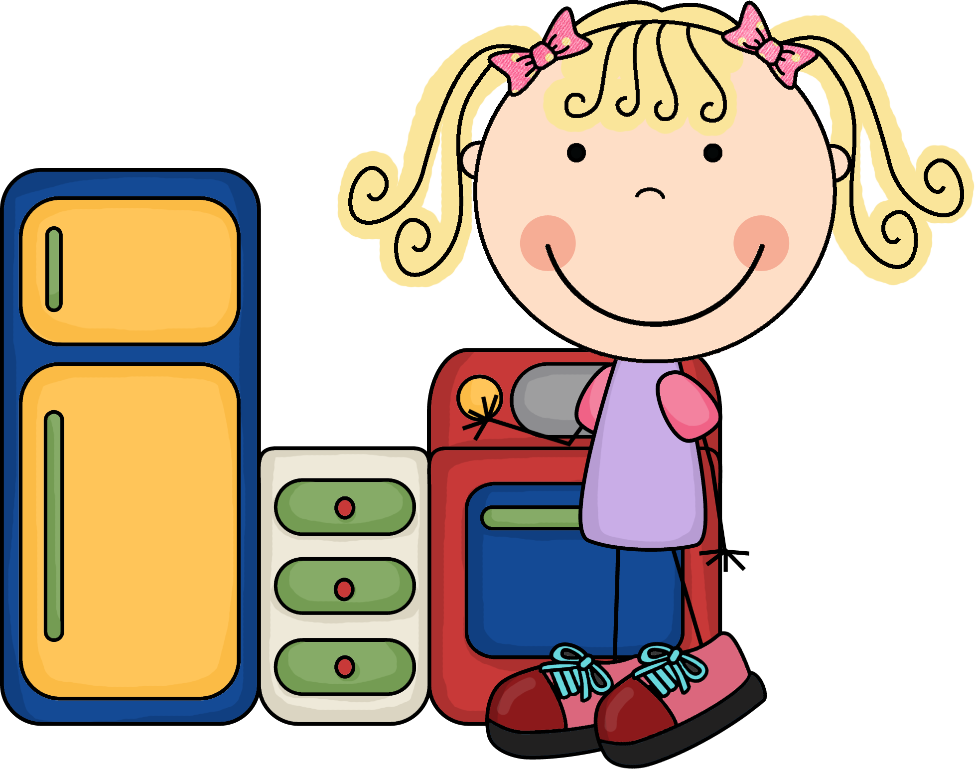 Vector Drawing Lines Kindergarten : Preschool centers clip art free clipart images wikiclipart
