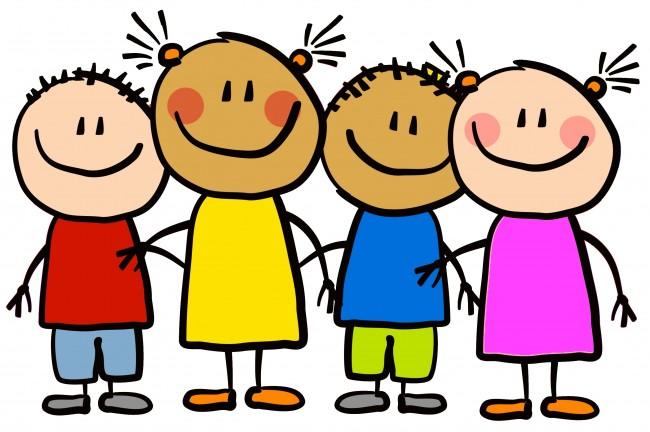 Preschool children clip art kids on graphics and