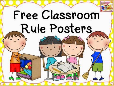 Preschool rules clipart 3