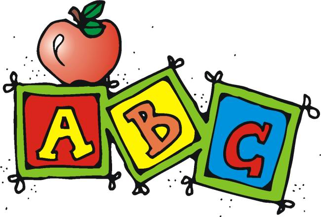 Preschool schedule clipart 2