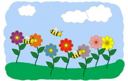 Preschool spring clipart