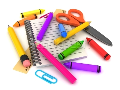 Preschool supplies clipart