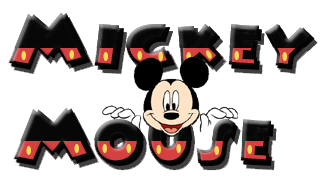 Safari mickey mouse clipart