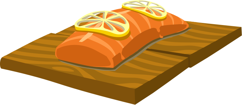 Salmon clip art the cliparts
