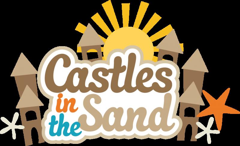 Sand castle 0 images about castle on scrapbook titles clipart