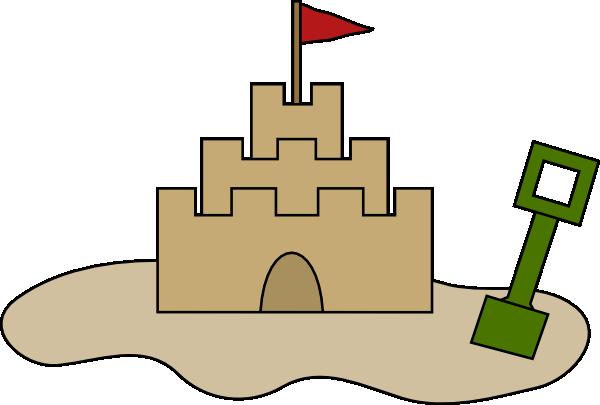 Sand castle sandcastle clipart free images 2