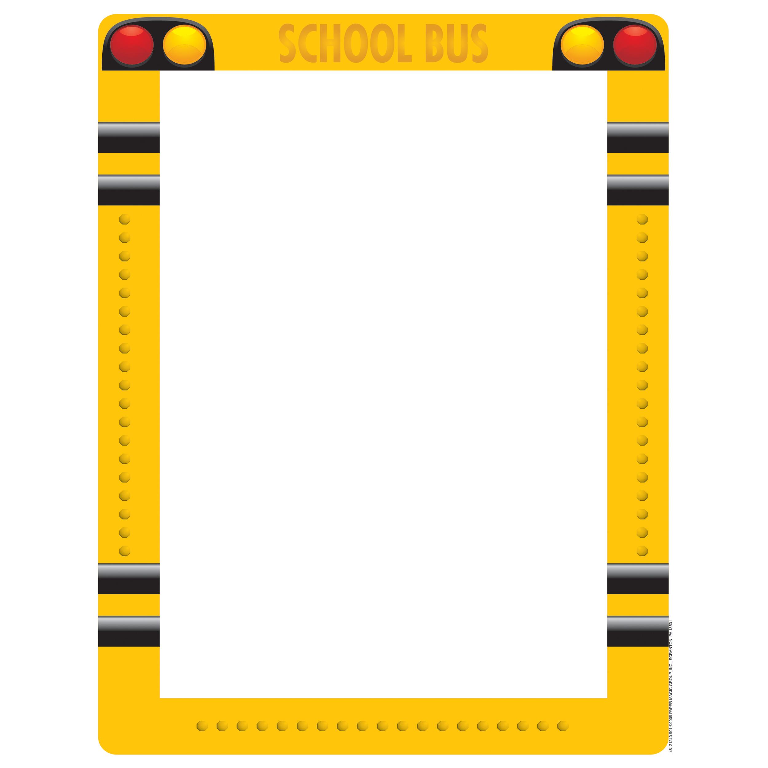 School border school theme page boarder clipart 2