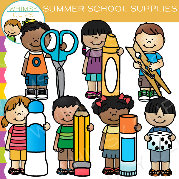 School supplies clip art images