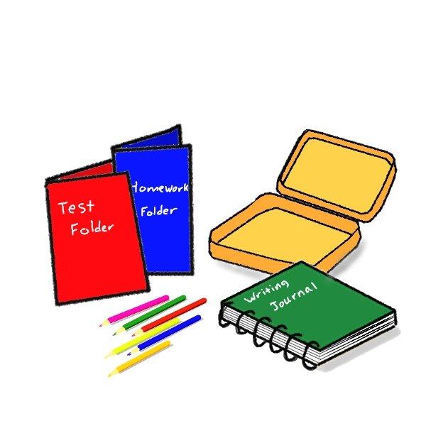 School supplies clipart 10