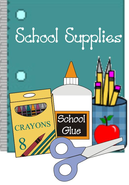 School supplies clipart 5