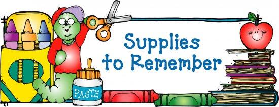 School supplies clipart 6 2