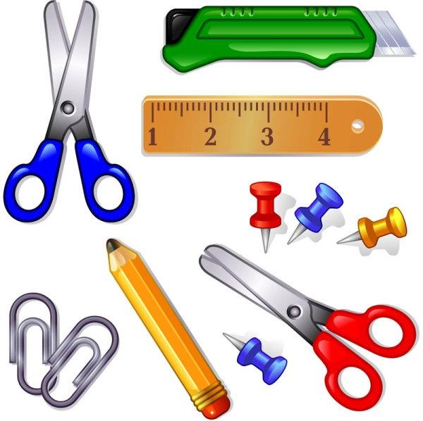 School supplies clipart 6 3