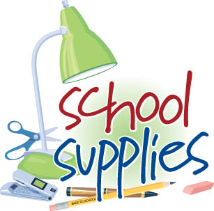 School supplies clipart 9