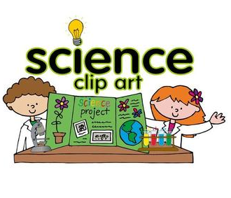 Science clip art set science and clipartbold