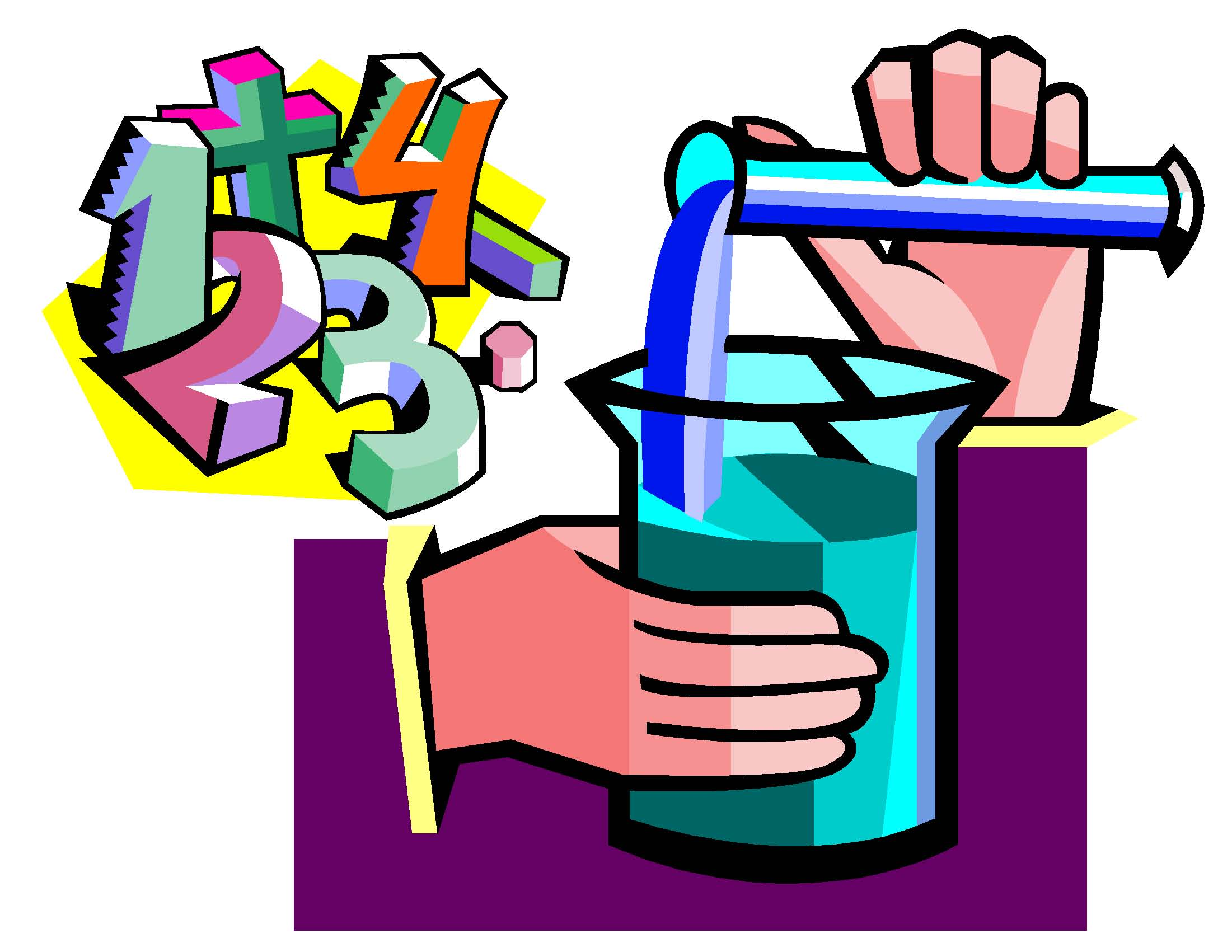 Science clip art set science and