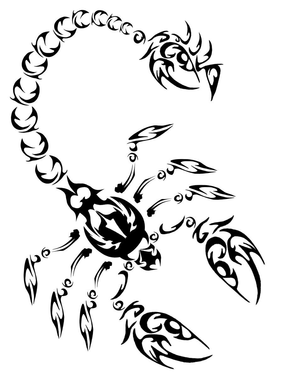 Scorpion clipart 4