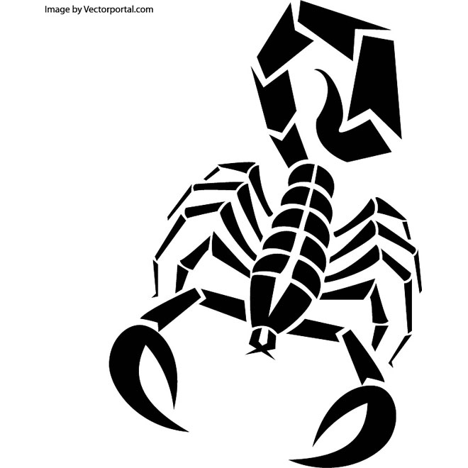 Scorpion clipart free vector graphics freevectors