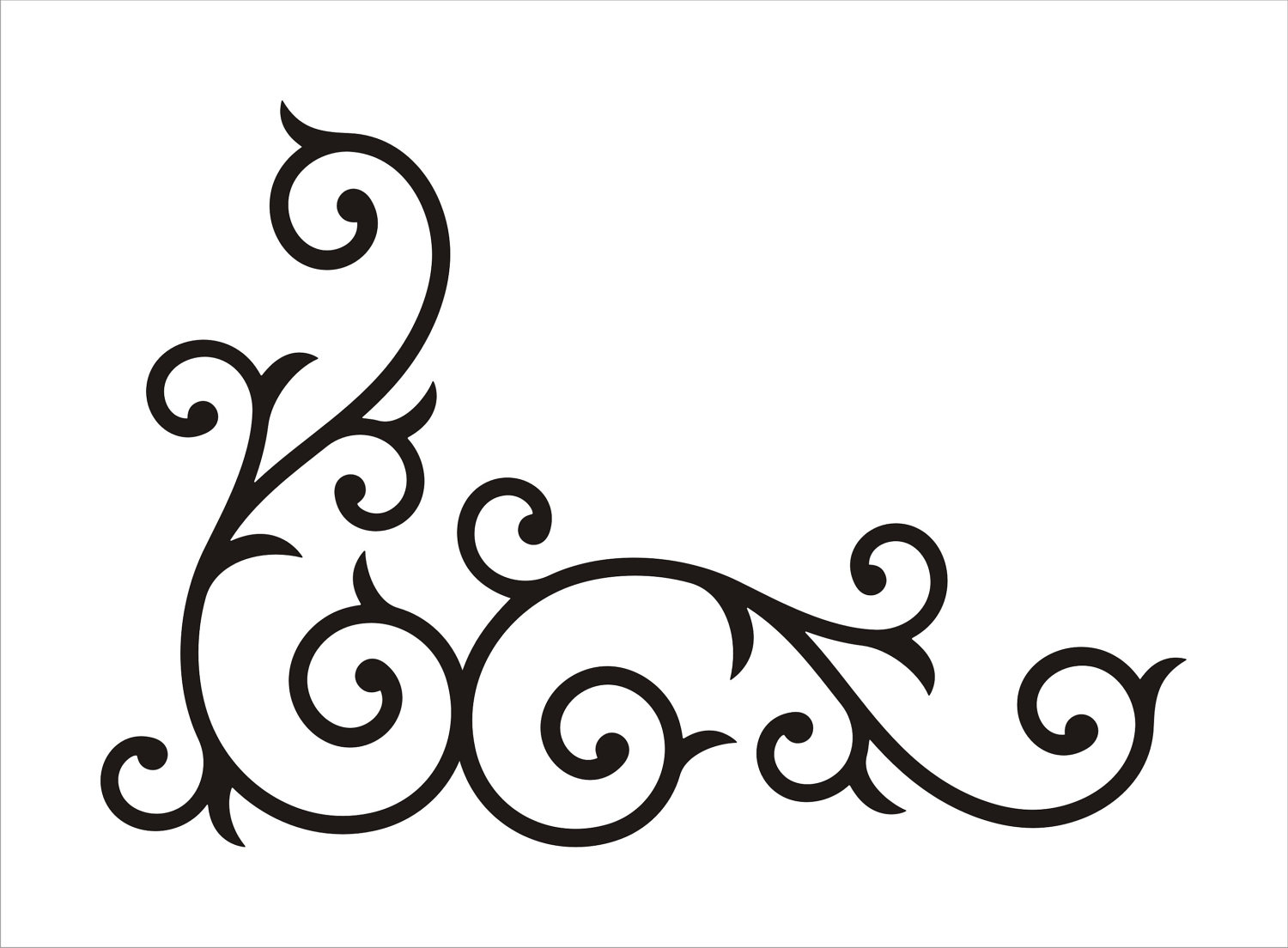 Scrollwork free clip art borders scroll clipart images 2 2