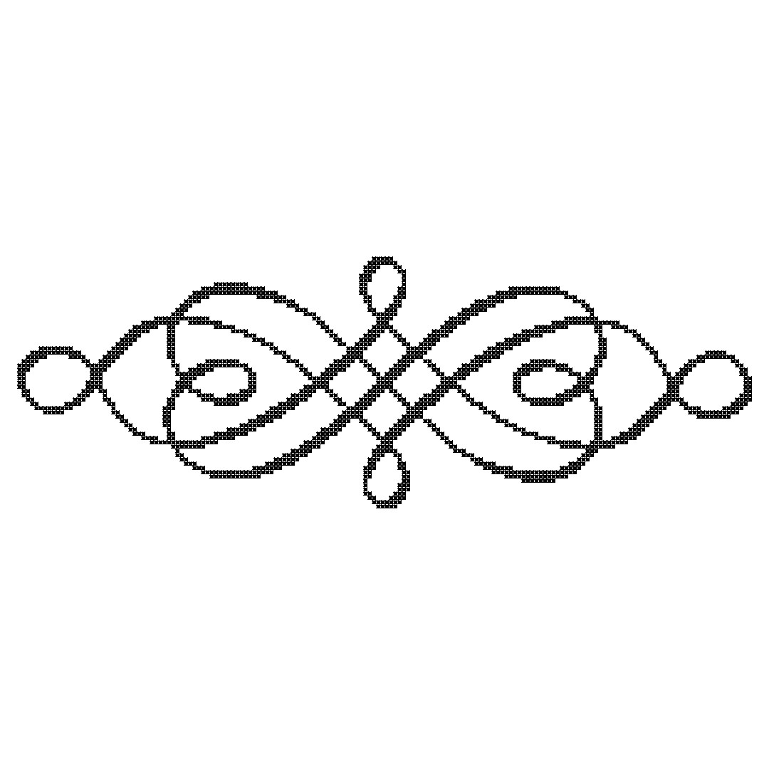 Scrollwork scroll symbols clipart